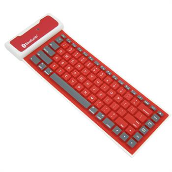Mini,Soft,Silicone,RolL-folding,Wireless,Bluetooth,Keyboard,For,iPad2/3/4,iphone,SMART,PHONE