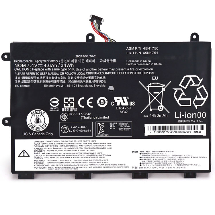 wholesale 45N1750 Laptop Battery