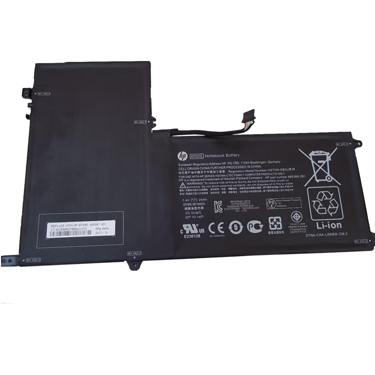 HP AT02025XL battery