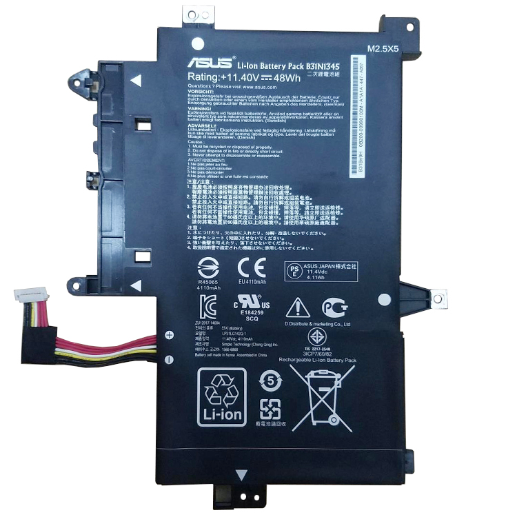 ASUS TP500 battery