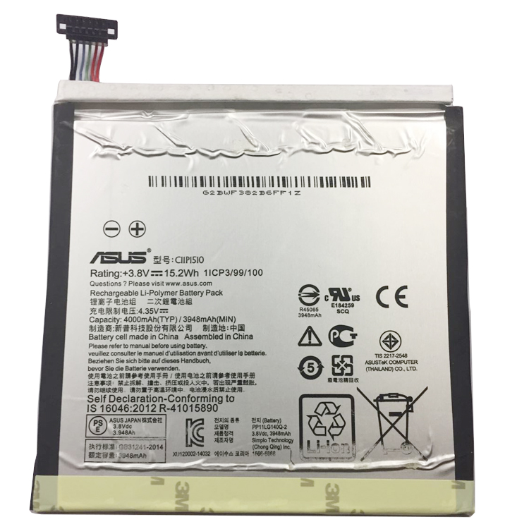 wholesale C11P1510 Laptop Battery