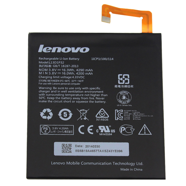Lenovo Ideapad A8-50 laptop battery