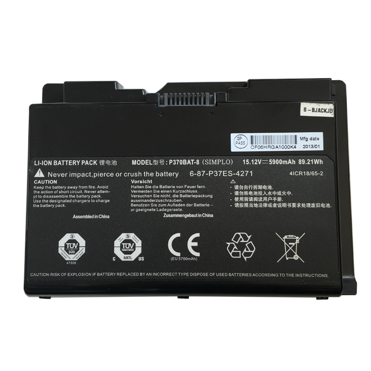 P370BAT-8 Laptop Battery