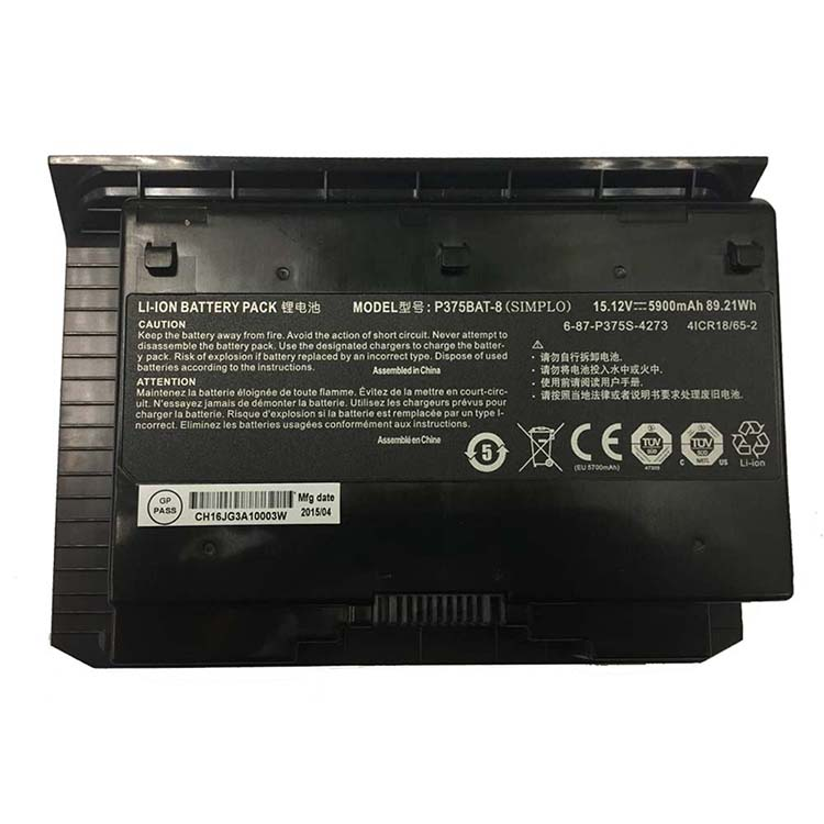 wholesale P375BAT-8 Laptop Battery