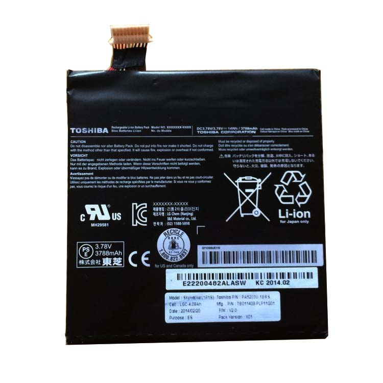 TOSHIBA PA5203U-1BRS battery