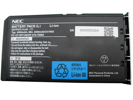Nec LaVie L Series battery