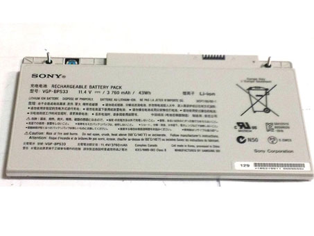 SONY VAIO T Touchscreen Ultrabooks Series battery