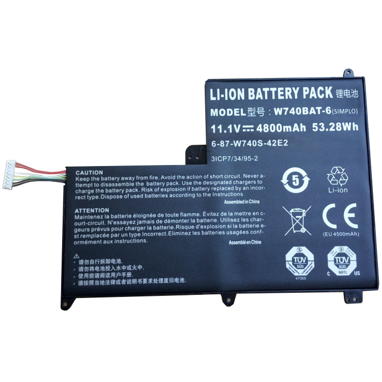CLEVO W740BAT-6 battery