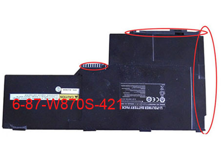 Clevo W87 Series battery